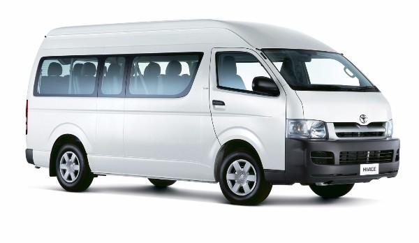 Toyota Hiace Van (10 Seater)