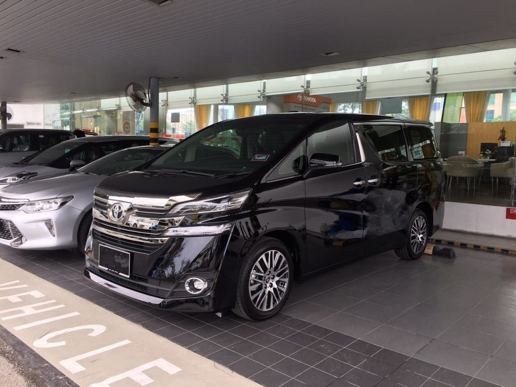 2016 Toyota Vellfire 2.5