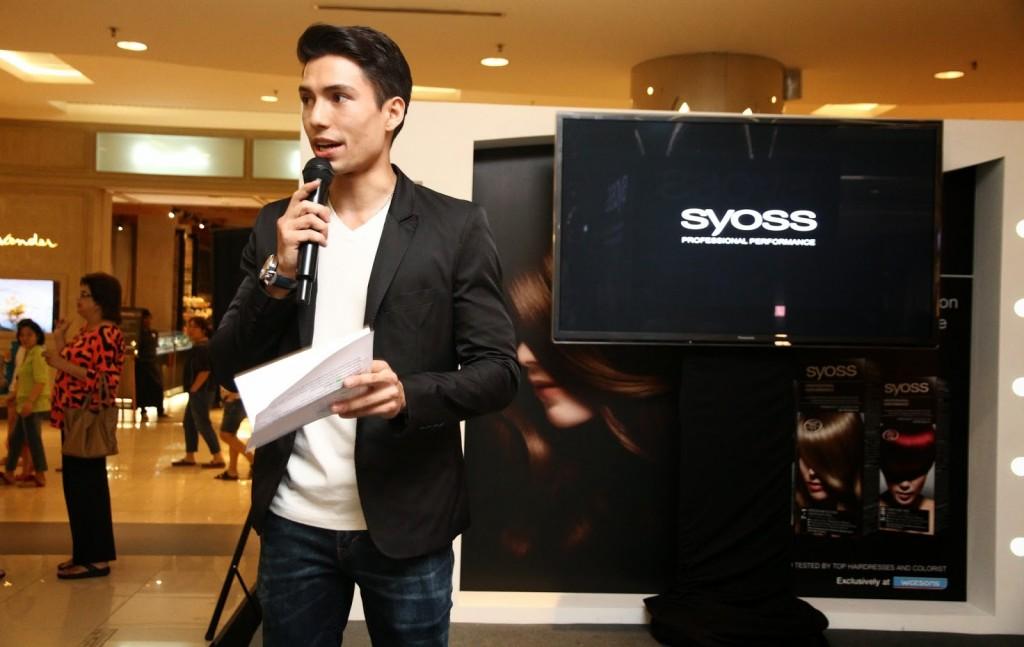 Syoss Color Launch_Event Emcee_Josiah Mizukami