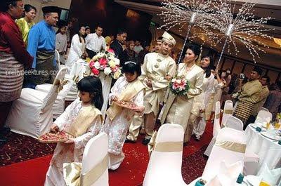Servis Bunga Manggar Malay Cultural Wedding Event