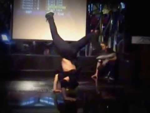 High Energy Breakdancers Modern Break Dance Performance