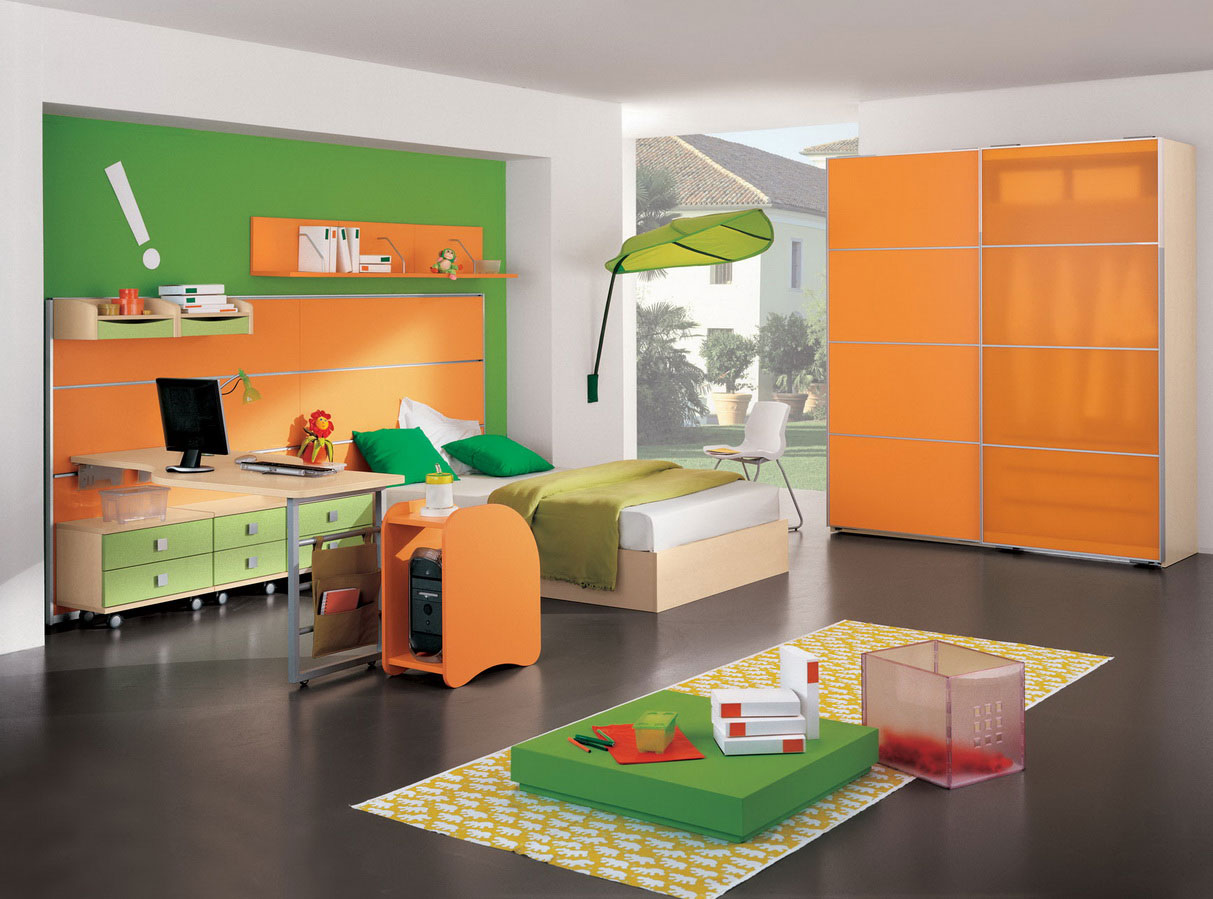 Nice Colorful Kids Interior Design
