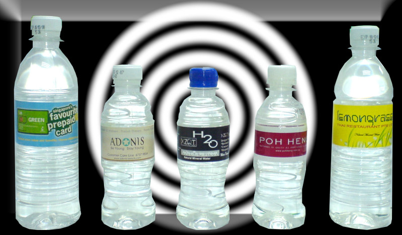 Mineral & RO Drinking Water Labeled (500ml/300ml) | Make Your Own Brand Label