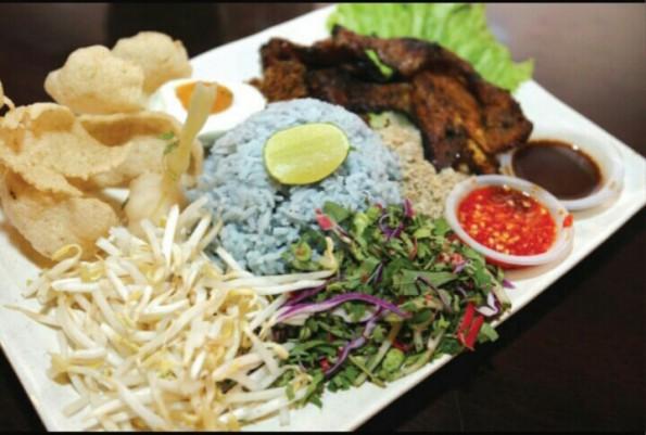 nasi kerabu di shah alam