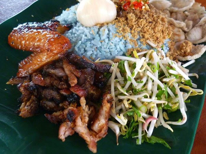 Tempahan Nasi Kerabu Asli Kelantan / Terengganu / Golok
