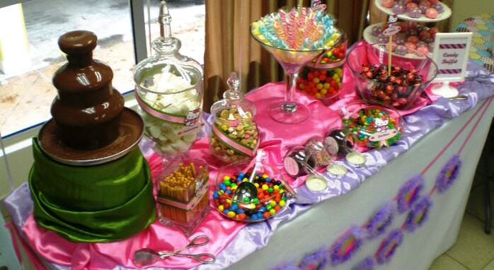 kids bday party buffet