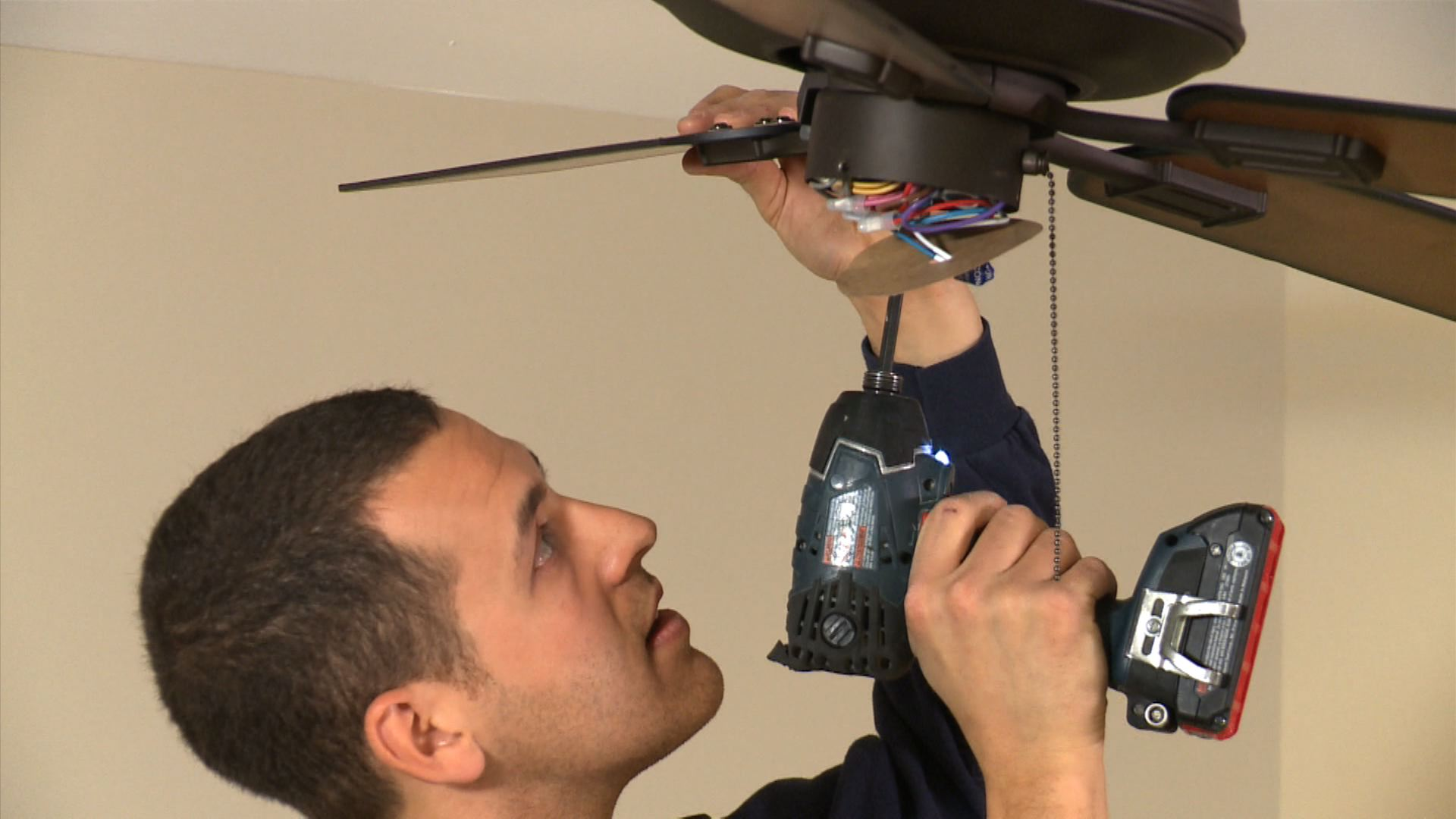 Ceiling fan installation sp models triump 7 easy steps to install a ceiling fan aloadofball Image collections