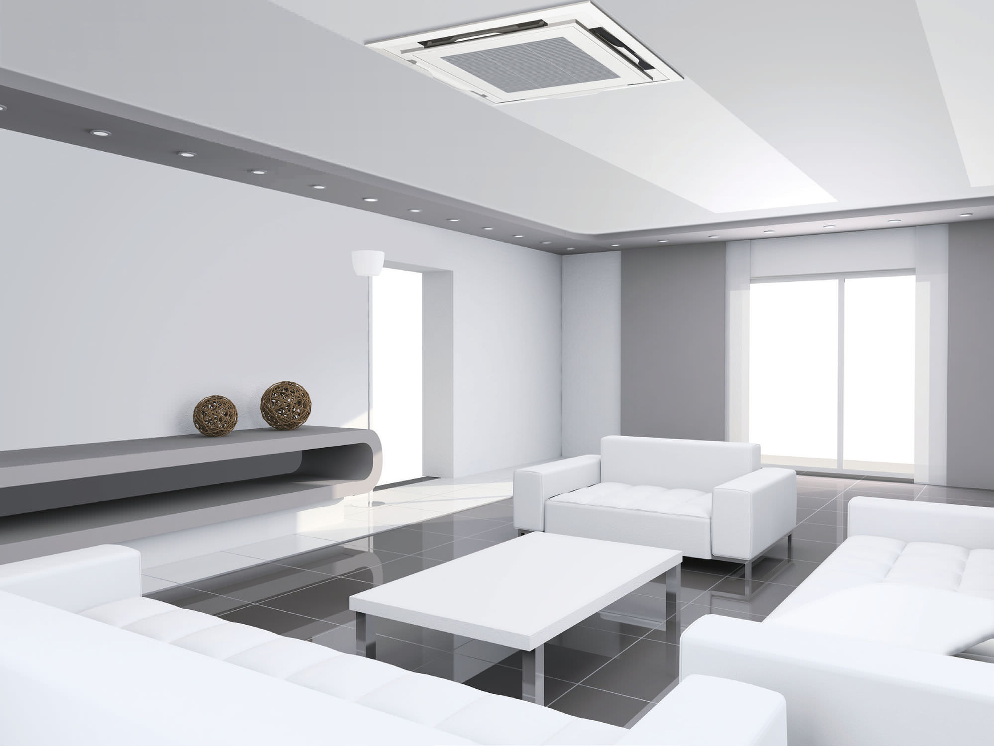 Ceiling Cassette Air Con Systems SP Models Triump